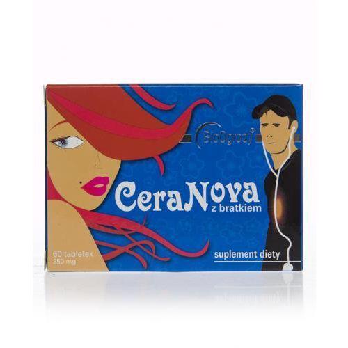 Produkt z kategorii- pozostałe kosmetyki do włosów - CERANOVA z bratkiem - 60 tabl.