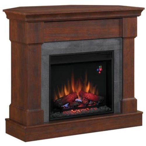 82839521 Kominek elektryczny z obudową Classic Flame Franklin (kolor: ciemna wiśnia) - oferta [45f1e90c517213dc]