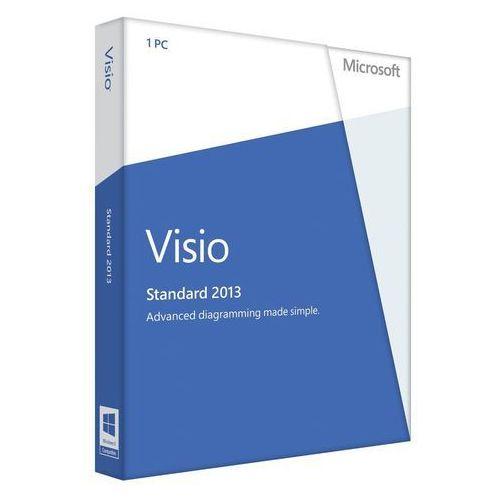 Microsoft Visio Std 2013 32-bit/x64 Polish Medialess (D86-04782) - produkt z kategorii- Pozostałe oprogramowanie