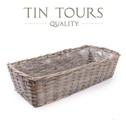 Produkt PROSTOKĄTNA BALKONÓWKA WIKLINOWA 54x24,5x14 cm, marki Tin Tours Sp.z o.o.