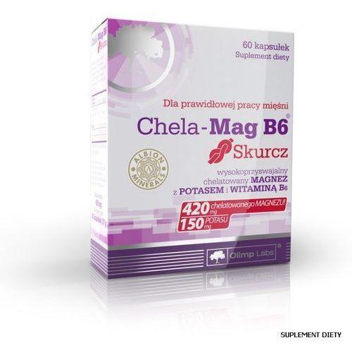 Chela-Mag B6 Skurcz kaps. x 60, postać leku: kapsułki