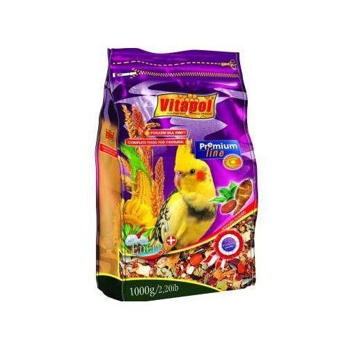 VITAPOL Pokarm Premium dla nimfy i średnich papug