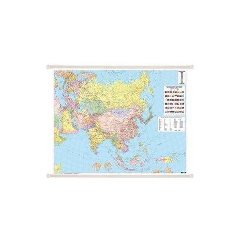 Azja mapa ścienna polityczna 1:9 000 000  & Berndt, produkt marki Freytag