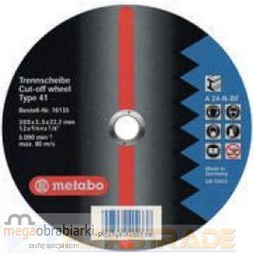 METABO Tarcza tnąca do stali 300 mm (10 szt) Flexiamant Super A 24-N RATY 0,5% NA CAŁY ASORTYMENT DZWOŃ 77 415 31 82 ze sklepu Megaobrabiarki - zaufaj specjalistom