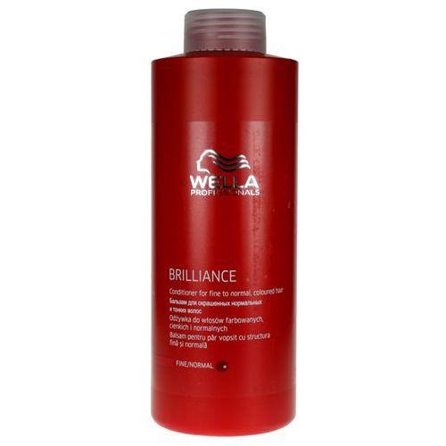 Wella Brilliance - odżywka do cienkich włosów farbowanych 1000ml - produkt z kategorii- odżywki do włosów