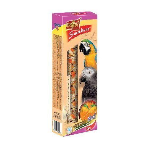 Vitapol Smakers dla dużych papug - pomarańczowy 2szt [2704]