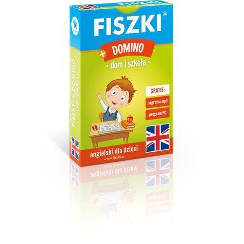 Fiszki obrazkowe + Domino - Dom i szkoła - j. angielski - oferta [65b8daa27f038523]