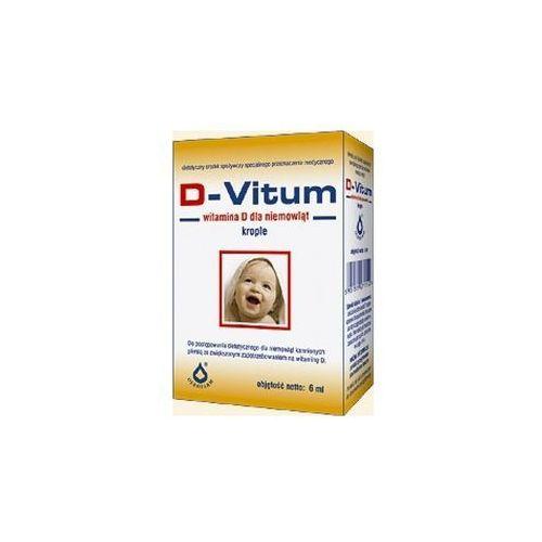 [krople] D-Vitum - Witamina D dla niemowląt krople