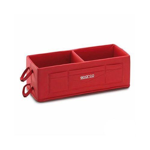 Pudło na kaski Sparco czerwone - produkt z kategorii- ozdoby i akcesoria do kasków