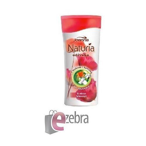 Joanna Naturia Odżywka do włosów Mak i bawełna 200g - produkt z kategorii- odżywki do włosów