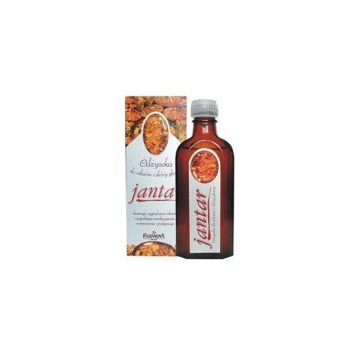 Produkt z kategorii- odżywki do włosów - Jantar Odżywka z bursztynem, stymulująca i wzmacniająca 100ml FARMONA