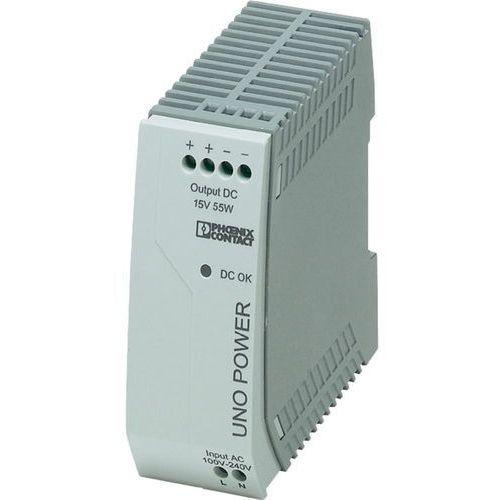 Zasilacz na szynę DIN Phoenix Contact UNO-PS/1AC/15DC/ 55W 2903001 3.7 A z kategorii Transformatory