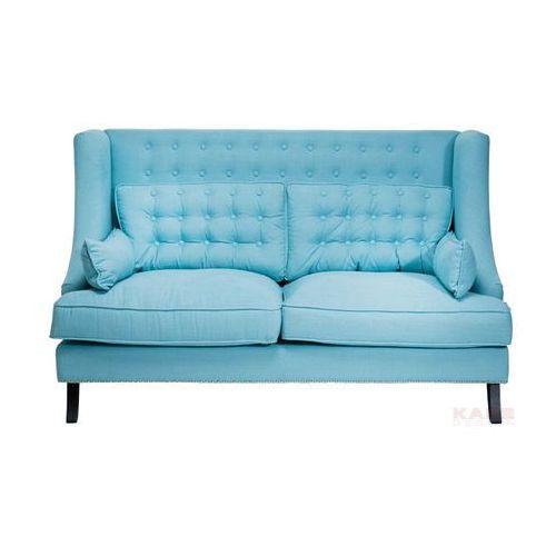 Vegas Sofa 2 Osobowa Niebieska 177x107x98cm - 76346, Kare Design
