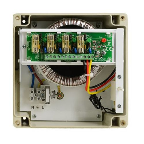 Artykuł Zasilacz 24VAC Pulsar PSACH 24VAC/4A/4x1A/HERMETIC z kategorii transformatory