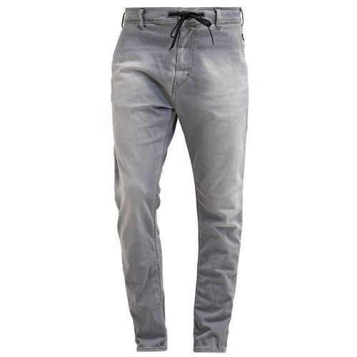 Replay HYPERFREE Jeansy Relaxed fit grey used - produkt z kategorii- spodnie męskie