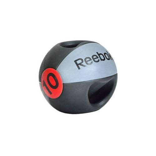 Piłka lekarska 10 kg (z uchwytem) RSB-10130, produkt marki Reebok