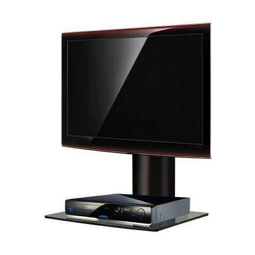 Fiber Novelty Półka audio video DVD hartowane szkło i polerowane aluminium - ART D49 z kat. półki rtv