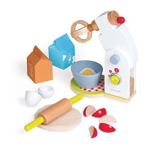 Janod - Robot kuchenny drewniany z 12 akcesoriami oferta ze sklepu SCANDINAVIAN BABY
