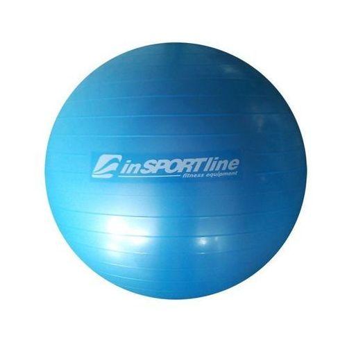 Produkt INSPORTLINE Top Ball 75 cm z pompką IN 3911-3 - Niebieska - Piłka fitness