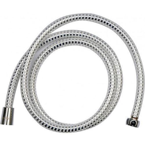 Wąż prysznicowy pvc silver/white 150cm / SZYBKA WYSYŁKA / BEZPŁATNY ODBIÓR: WROCŁAW, kup u jednego z partnerów
