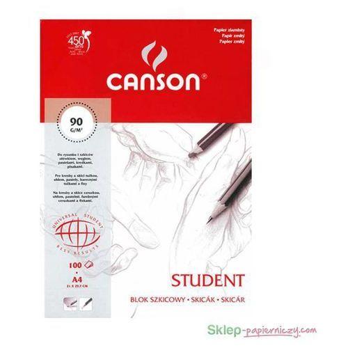 Oferta Szkicownik CANSON A4 Student 90g. 100k. ziarnisty [650d6c21f5f5e356]