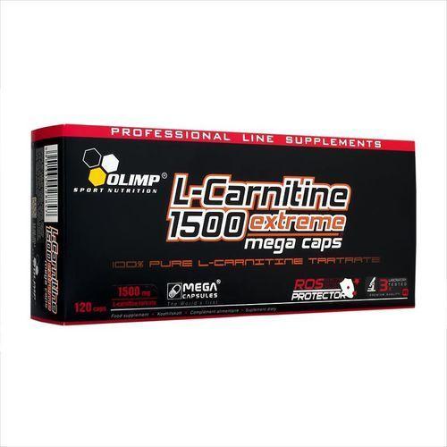 L-Carnitine 1500 Extreme Mega Caps 120kaps.