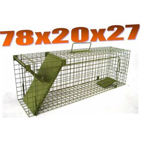 Pułapka jednowejściowa na szczury, kuny, tchórze, norki, koty ZL S1D od Mediasklep24