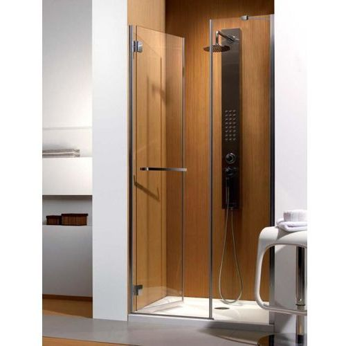 Carena DWJ Radaway drzwi wnękowe 1193-1205x1950 chrom szkło brązowe lewe - 34332-01-08NL (drzwi prysznicowe
