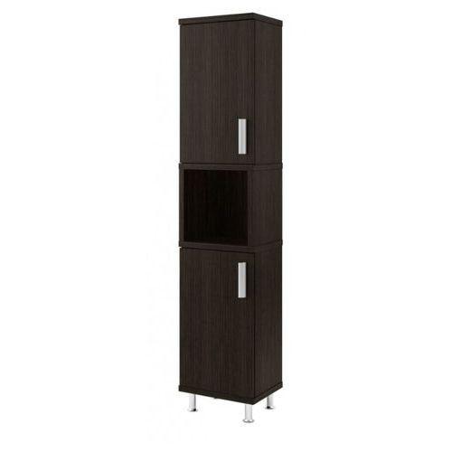 AQUAFORM szafka wysoka Amila II legno ciemne (słupek) 0412-161600 - produkt z kategorii- regały łazienkowe