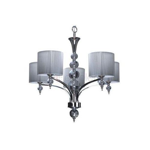 Artykuł LYON żyrandol 5 x 40W E14 CHROM / SREBRNY z kategorii lampy wiszące