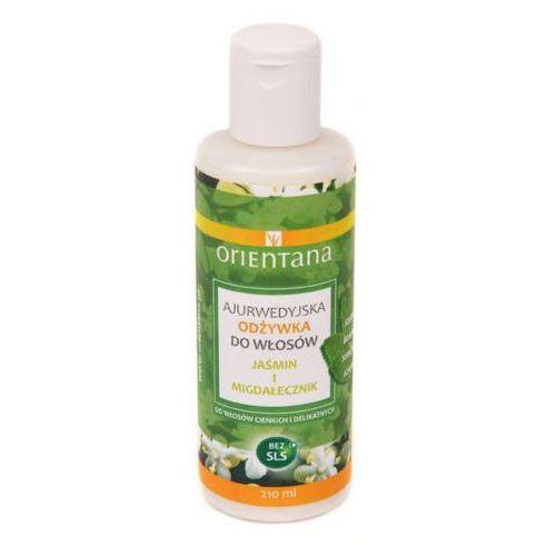 Orientana Ajurwedyjska wzmacniająca odżywka do włosów Jaśmin i Migdałecznik 210 ml - produkt z kategorii- odżywki do włosów