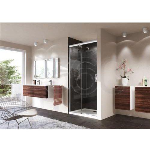 Oferta Huppe Aura Elegance: Drzwi suwane 1-częściowe ze stałym segmentem mocowanie lewe 140/190cm chrom elo