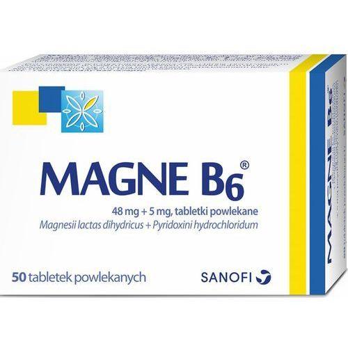 Magne B6 x 50 tabl. *C, postać leku: tabletki