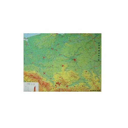 Polska mapa ścienna DUO 1:700 000 , produkt marki Meridian