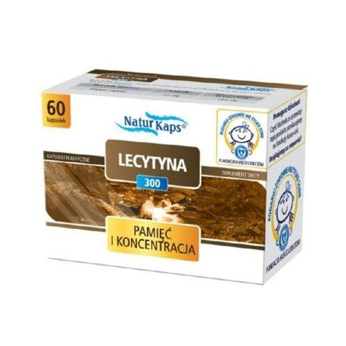 Naturkaps Lecytyna 300 kaps. 0,3 g 60 kaps., postać leku: kapsułki