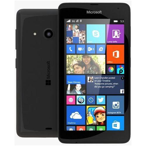 Microsoft Lumia 535 Dual SIM (czarny) - czarny - produkt z kategorii- Pozostałe oprogramowanie