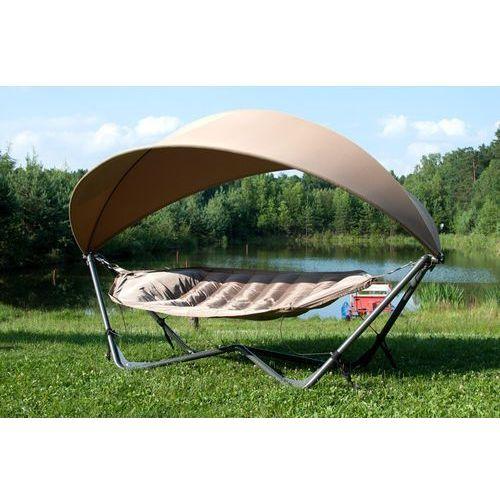 Hamak gondola ogrodowy - brązowy, produkt marki TopGarden