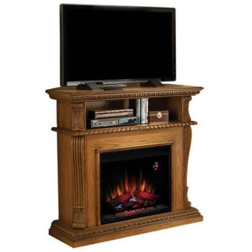 82839535 Kominek elektryczny z szafką RTV Classic Flame Corinth (kolor: dąb) - oferta [9599dfa85fc3135a]