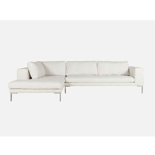 Sofa Mattias narożna lewa SET1 MATTIS 05 natur tkanina biała  E1567-5404-2S-MATTIS05, Sits