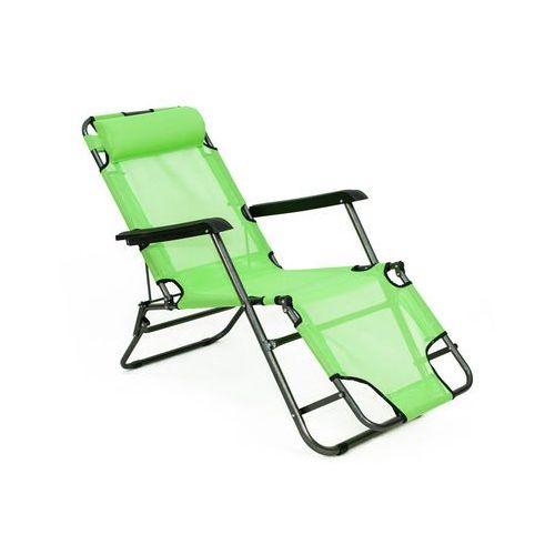 Produkt LEŻAK OGRODOWY ECO rozkładany - zielony - Zielony
