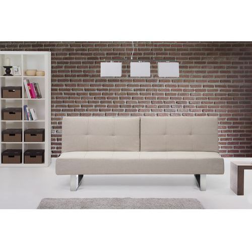 Rozkladana sofa ruchome podlokietniki - DUBLIN bez, Beliani