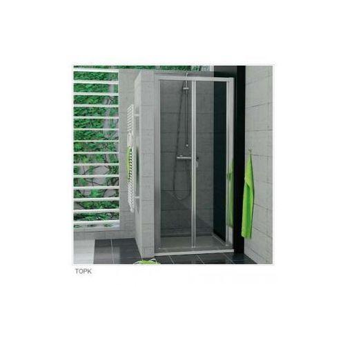 SANSWISS TOP LINE Drzwi przesuwno-składane 2-częściowe TOPK (drzwi prysznicowe)