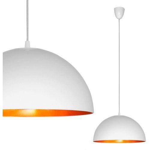 LAMPA wisząca OPRAWA metalowa NAD stół HEMISPHERE S Nowodvorski 4893 złoty biały - sprawdź w MLAMP.pl - Rozświetlamy Wnętrza