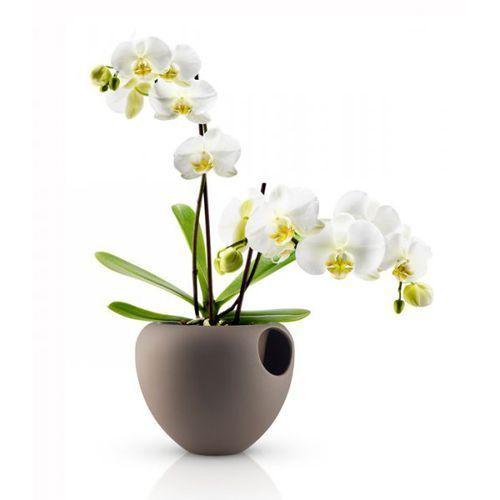 ORCHID Doniczka Samopodlewająca do Kwiatów - Brązowa, produkt marki Eva Solo