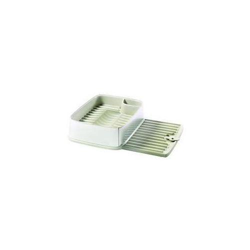 Ociekaczem Curver 10 x 30 x 40 cm Srebrny/Kremowy - produkt z kategorii- suszarki do naczyń