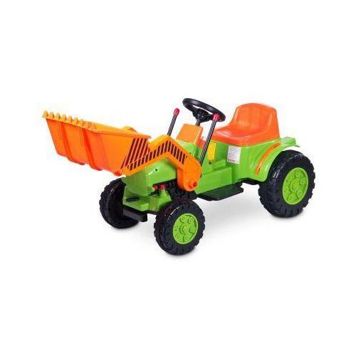 Caretero Toyz Bulldozer pojazd na akumulator zielony ze sklepu foteliki-wozki.pl