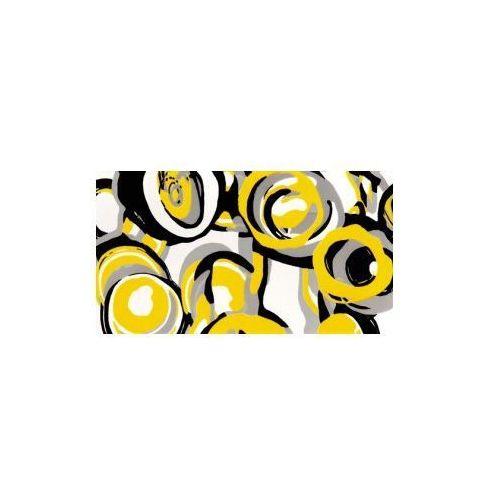 Tubądzin Dekor ścienny Hoop Yellow 59,3x32,7 cm (glazura i terakota)