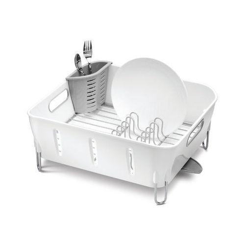 SImplehuman Ociekacz do naczyń COMPACT - biały - produkt z kategorii- suszarki do naczyń