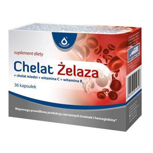 Chelat żelaza 36 kaps., postać leku: kapsułki