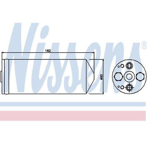 Towar z kategorii: osuszacze powietrza - Osuszacz, klimatyzacja NISSENS 95345